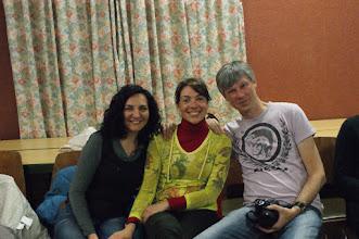 Photo: Amb en Thomas, un dels professors alemanys