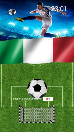 Calcio Italia Lockscreen