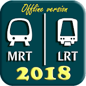 Singapore MRT Map 2018 (DTL3 included)