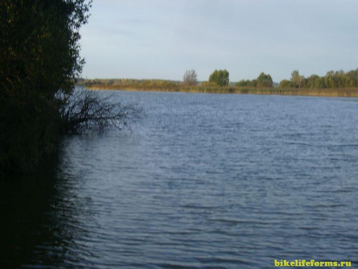 Утро на Вазузском водохранилище