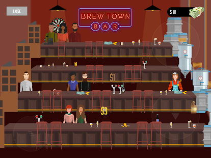 Brew Town Bar Screenshot