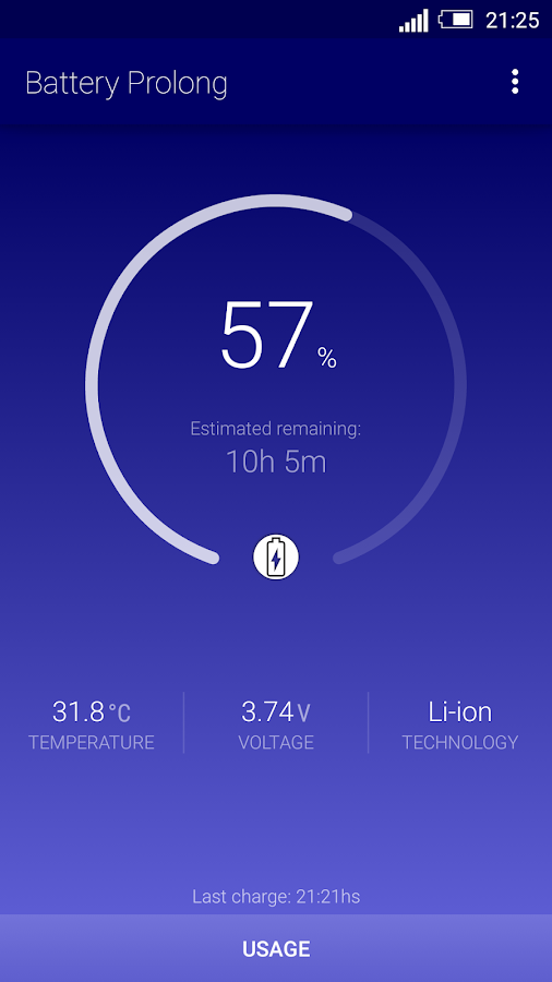 Battery Prolong- screenshot
