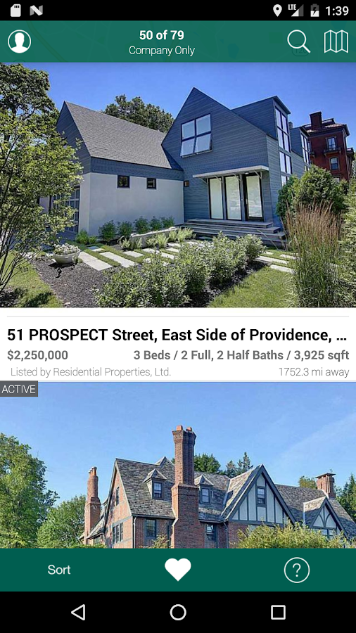 Residential Properties, LTD- screenshot