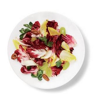 Endive, Radicchio, and Grape Salad