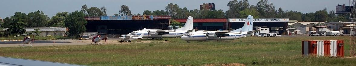 Photo: Phnom Penh International General Aviation Ramp
