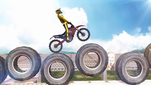 Code Triche Trial Bike 3D - Bike Stunt Games APK MOD screenshots 3