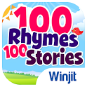100 Kids Nursery Rhymes & 100 Children Stories icon