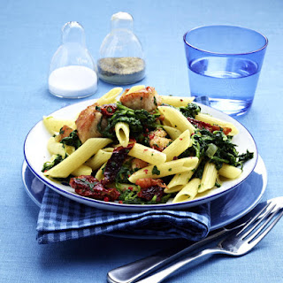 Penne with Chicken and Sun-Dried Tomatoes Recipe