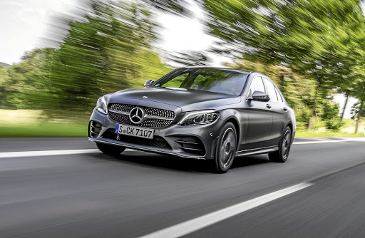 The new C-Class is barely even a facelift in the looks department with most changes beneath the skin. Picture: DAIMLER