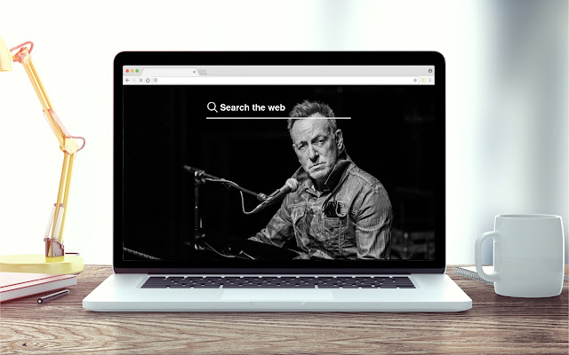 Springsteen New Tab Music Theme