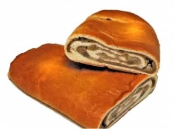 Sweet Italian Nut Roll