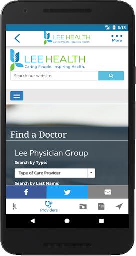 Lee Health Mobile screenshots 3