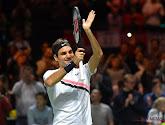 Roger Federer had het niet onder de markt tegen Borna Coric, maar stoomt door naar finale tegen Del Potro op Indian Wells