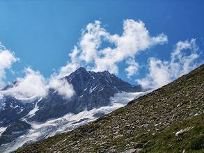 Photo: On the way up the Weisshorn (2nd attempt!)