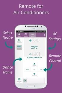 7 SURE Universal Remote App screenshot