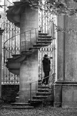 La scala a chiocciola di Villa Pisani di sarre 49