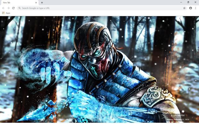 Mortal Kombat New Tab & Wallpapers Collection