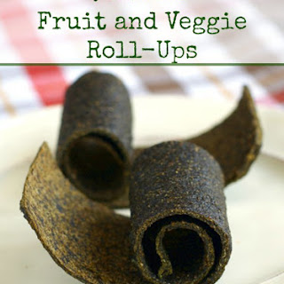 Fruit and Veggie Roll-Up Snacks