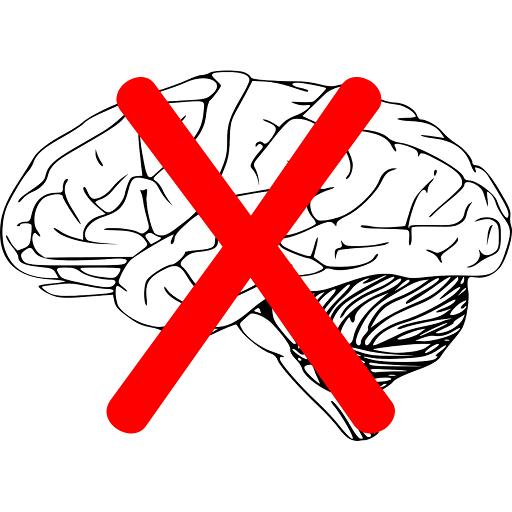 Перечеркнутый мозг картинка