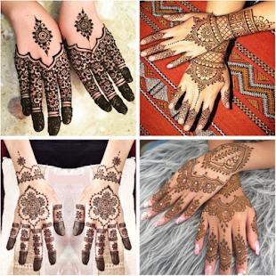 Desain Henna Untuk Pengantin
