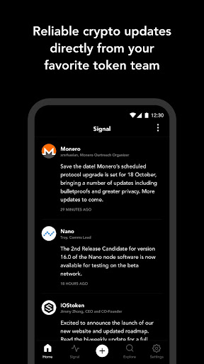 Blockfolio - Bitcoin and Cryptocurrency Tracker for Android apk 3