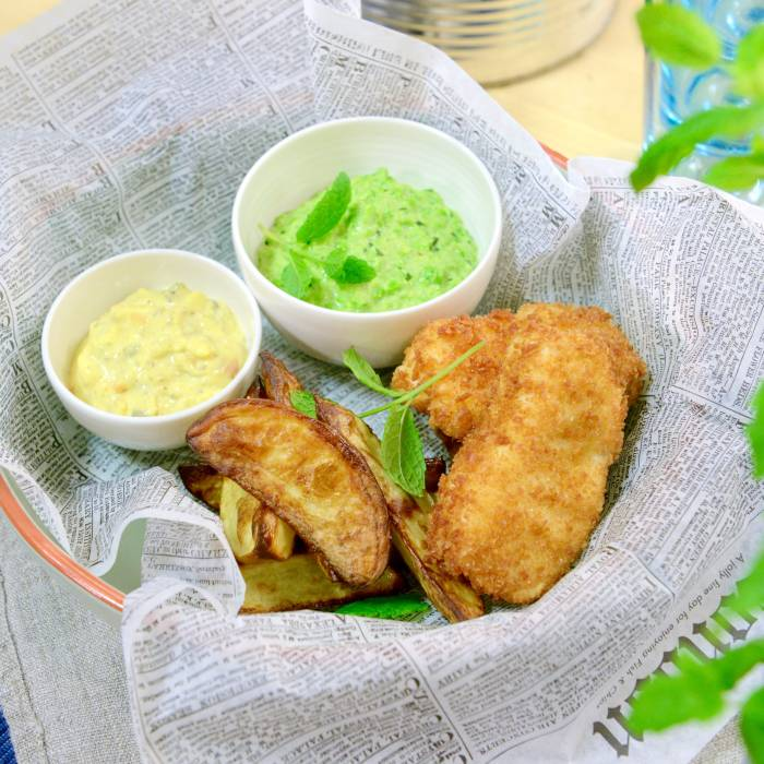 Fish and chips – recept