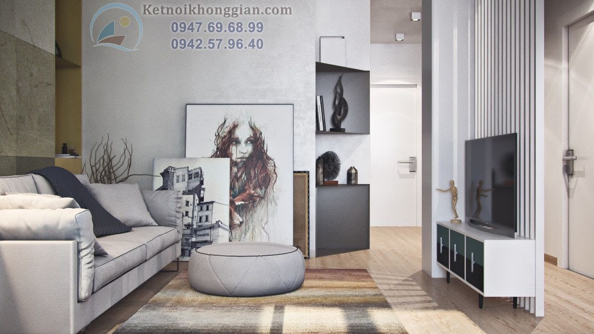 thiết kế phòng khách, thiết kế căn hộ