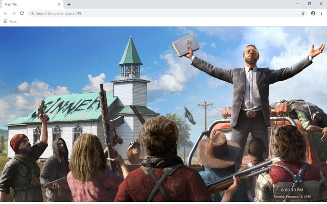 Far Cry 5 New Tab & Wallpapers Collection