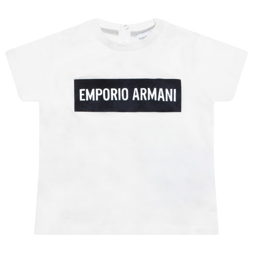 Primary image of Emporio Armani Baby Boy Jersey Top