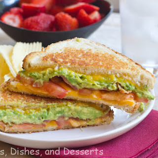 Bacon Avocado Grilled Cheese #SundaySupper