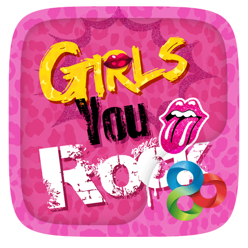 Girls Rock GO Launcher Theme
