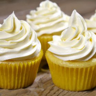 Lemon Cupcakes with Lemon Buttercream.