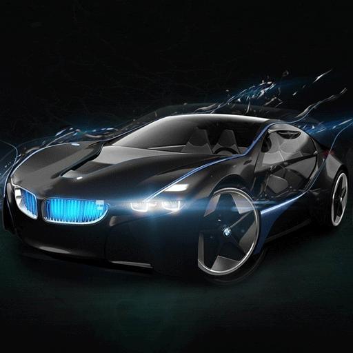 ブラックテクノロジースポーツカー 商業 App LOGO-APP開箱王