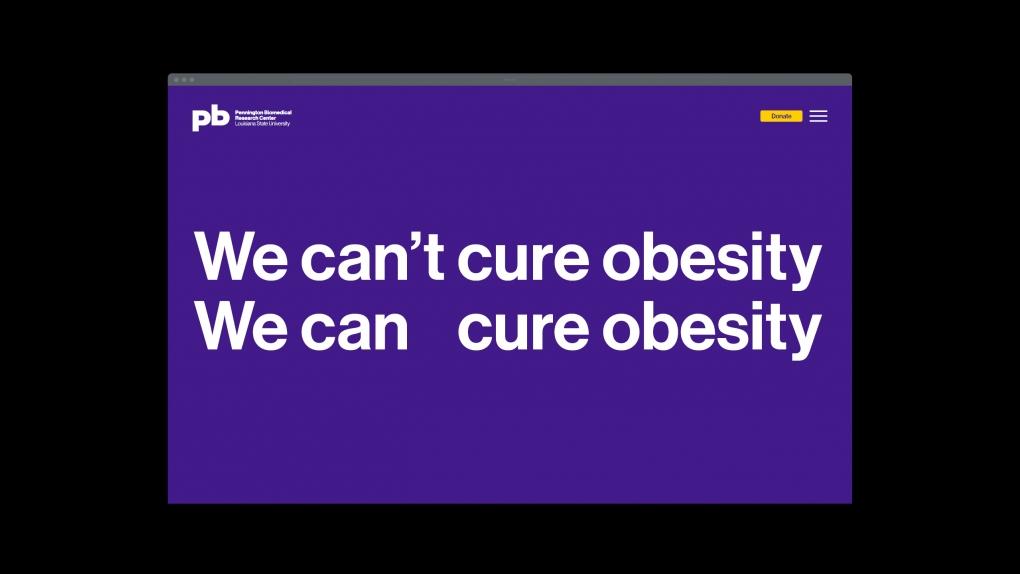 Pennington Biomedical Website Obesity