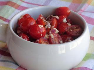 Grape Tomato Salad Recipe