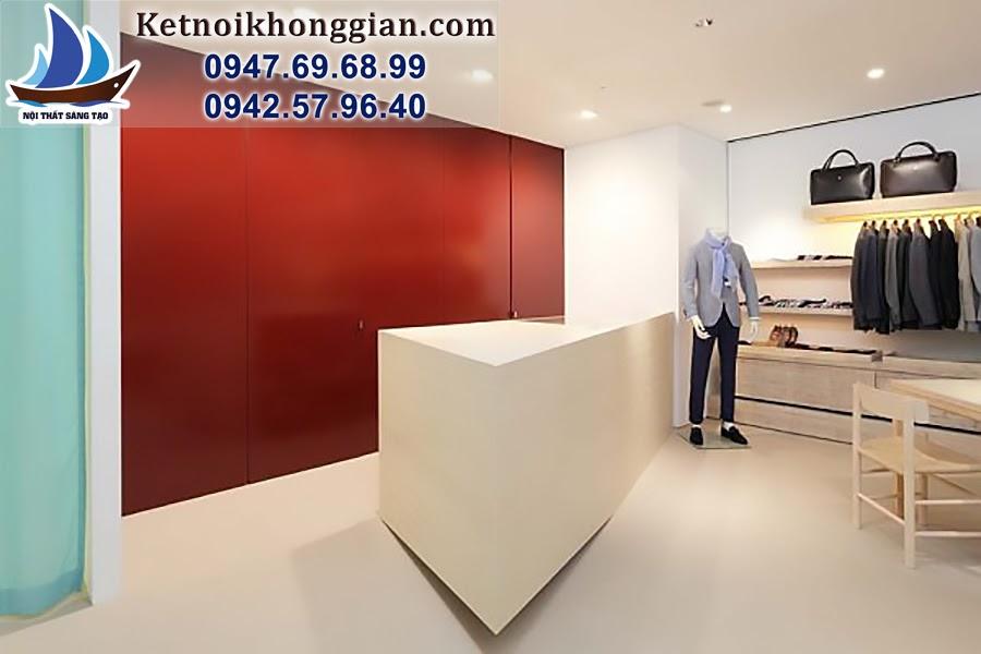 thiết kế cửa hàng thời trang chuyên nghiệp chất lượng cao
