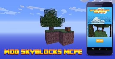 screenshot of Mod Skyblock for MCPE