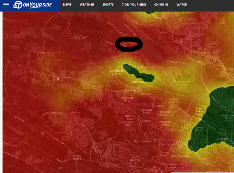 Arkansas Thunder Storm