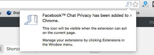 disable facebook chat seen feature chrome step 3