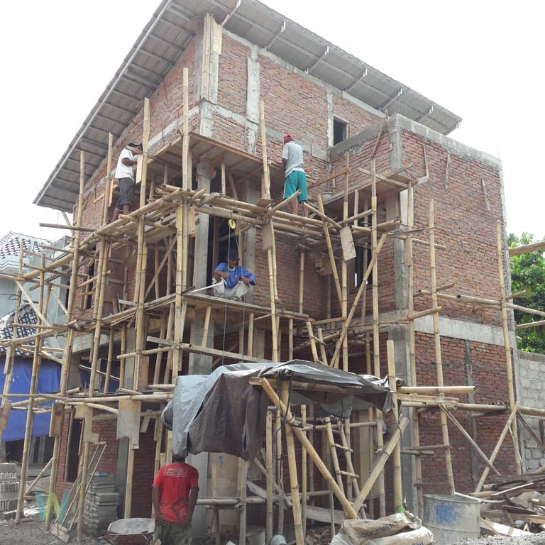 Proses Pembangunan Rumah 2 Lantai