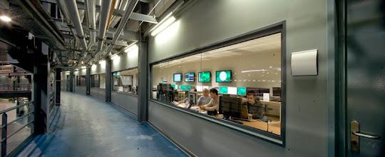 Photo: Control room