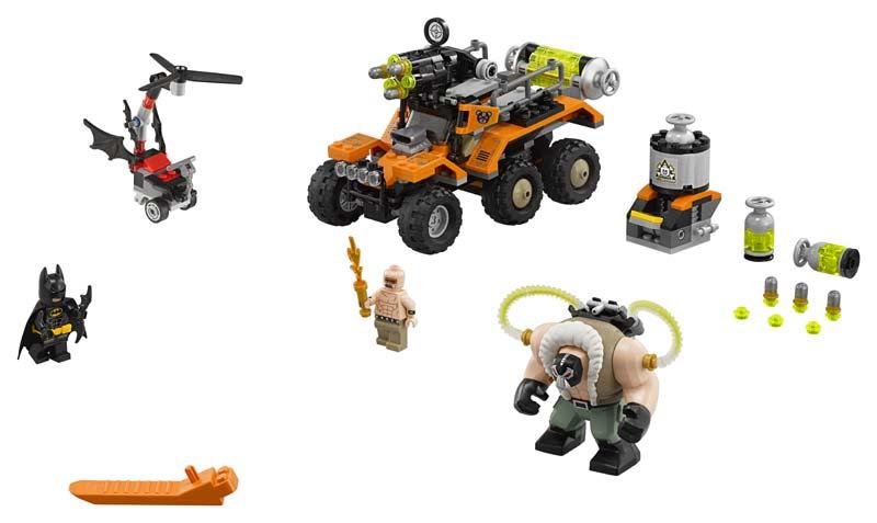 Contenido de Lego® 70914 Camión Tóxico de Bane™