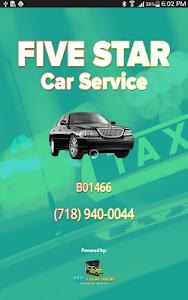 Five Star Car Service screenshot 6