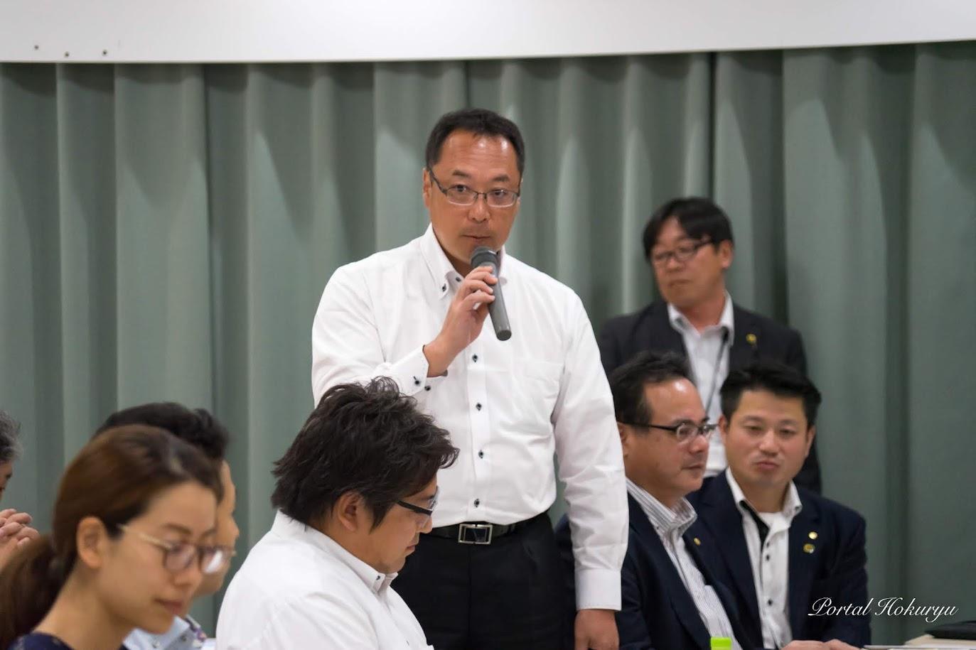アサヒビール(株)福田浩則 支店長