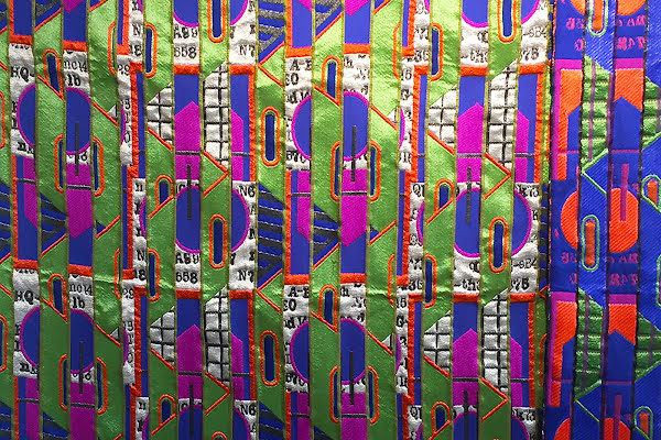 Library Inspires Site-Specific Textiles