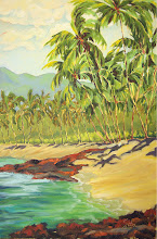 """Photo: """"The Gathering of Palms"""" - Anaehoomalu Bay 24"""" x 36"""" (available from artist)"""