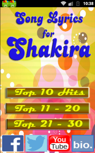 2015 Song for SHAKIRA PIQUE