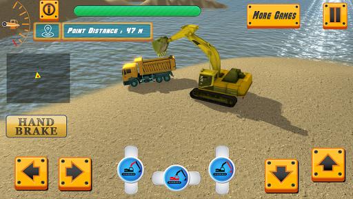 River Sand Excavator Simulator 3D  screenshots 1