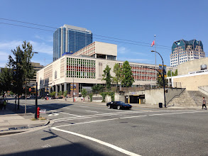 Photo: Vancouver Main Post Office McCarter Nairne & Partners, Department of Public Works 1958
