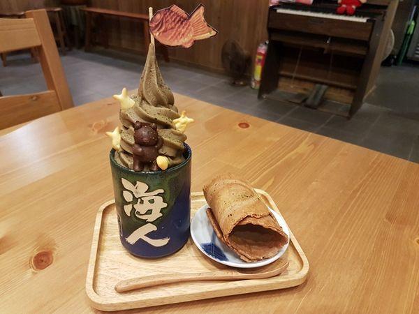 鼎昌號官邸店 薄脆日式鯛魚燒、官邸店限定海人冰